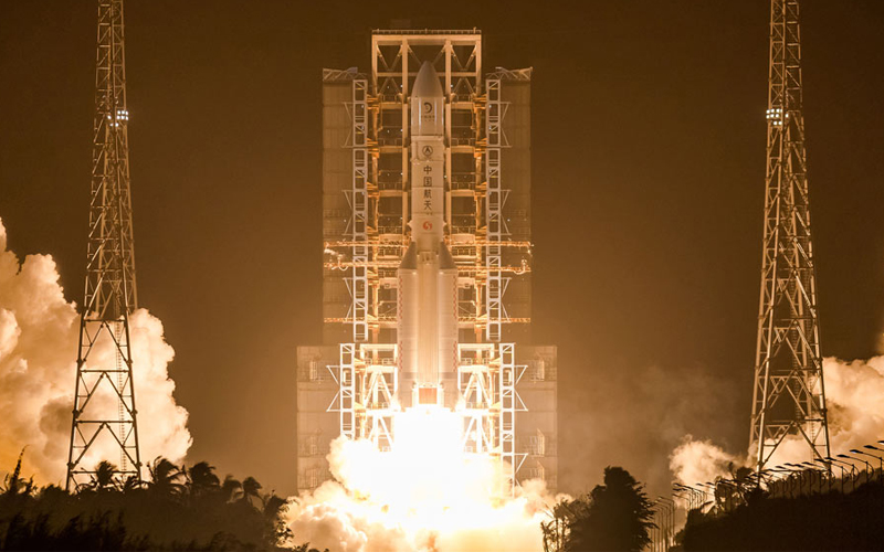 China launch Chang'e 5 mission to the Moon.