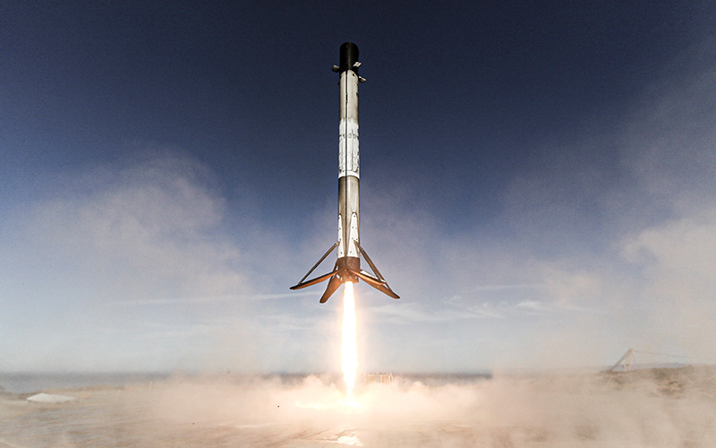 SpaceX has launched and recovered the same booster for the seventh time.