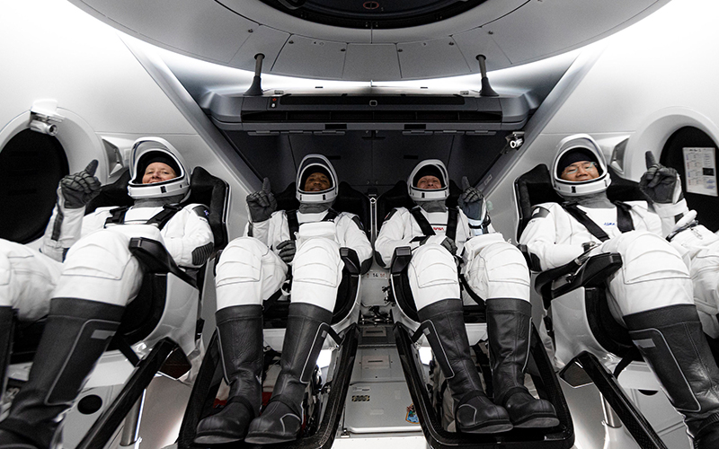 The most important spaceflight moments of 2020 - SpaceX Crew-1 launch