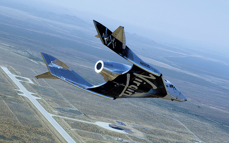 Virgin Galactic SpaceShipTwo flight aborted seconds after ignition.