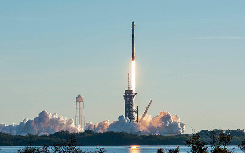 The SpaceX successfully returned a Falcon 9 booster to the launchpad in just 38 days, fast than ever before.