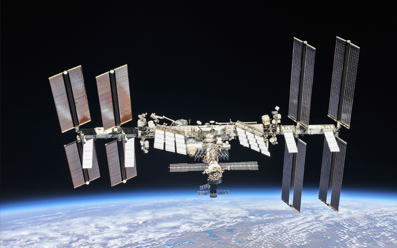 Boeing to build six next-generation solar arrays for the International Space Station.