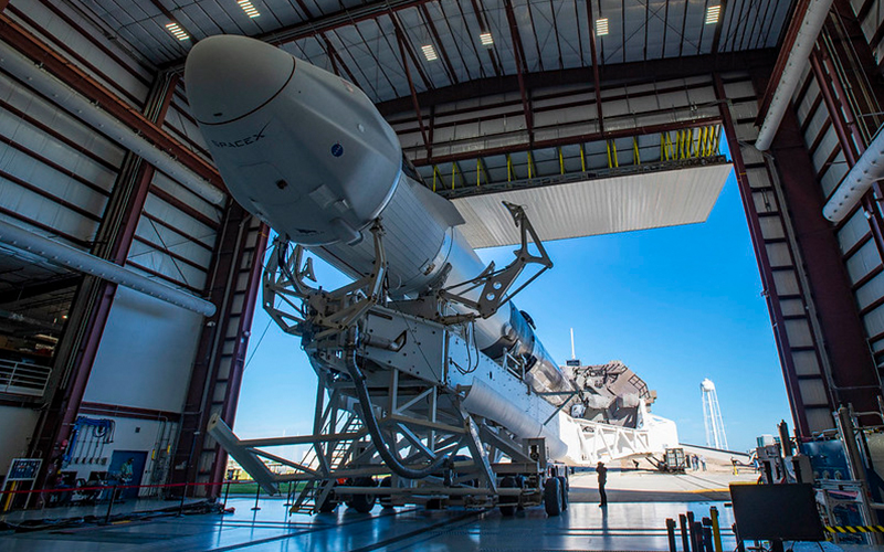 Crew Dragon Endeavour will be launched atop a Falcon 9 on April 20 in support of the NASA SpaceX Crew-2 mission to the International Space Station.