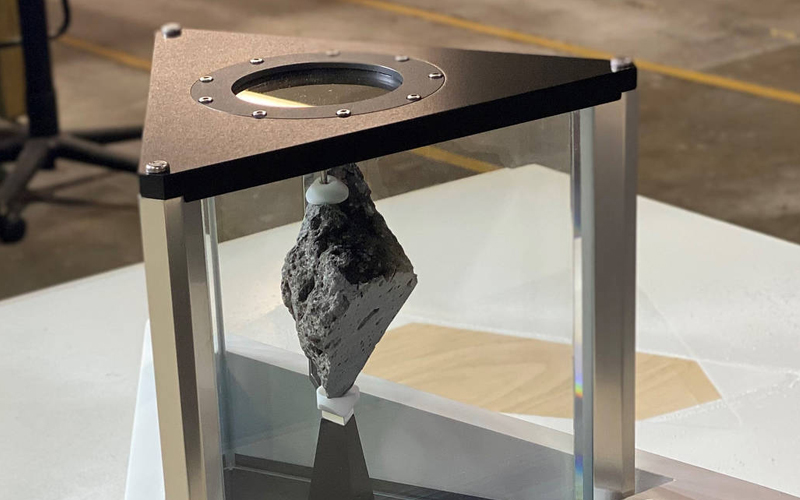 United States President Joe Biden has received a 332-gram Moon rock on load from NASA for display in his White House Oval Office.