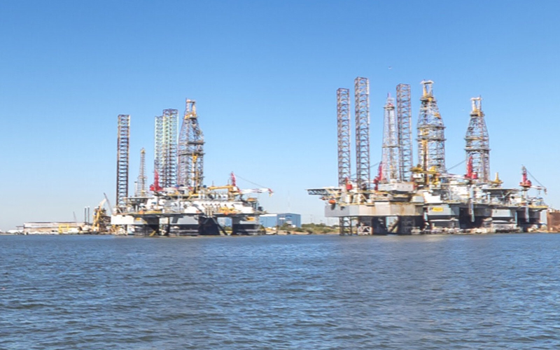 SpaceX has acquired a pair of offshore oil platforms and renamed them after the Martian moons Phobos and Deimos.