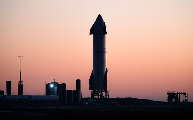 The SpaceX Starship SN9 prototype will be launched on its maiden mission over the weekend.