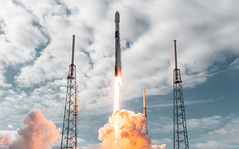 SpaceX launched the maiden flight of its dedicated rideshare program. The mission carried a record-setting 143 satellites into orbit.