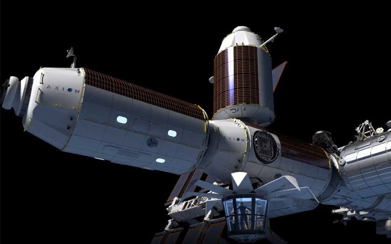 The Axiom space station module will provide a destination for private astronaut missions and other commercial activities.