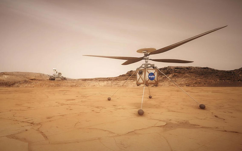NASA's Ingenuity helicopter is being prepared for the first flight on another planet after hitching a ride to Mars aboard Perseverance.