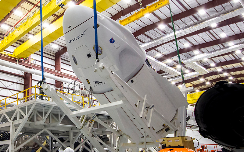 The flight-proven Falcon 9 booster earmarked for the Crew-2 mission was previously utilised to launch the Crew-1 mission aboard the Crew Dragon Resilience.