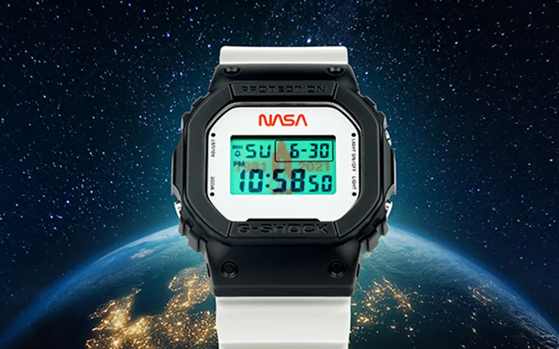 The limited-edition Casio G-SHOCK x All Systems Go watch is available wherever you can get it for $140.
