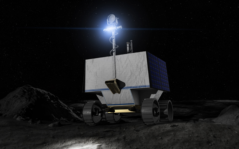 A SpaceX Falcon Heavy will launch NASA's water-hunting VIPER rover carried aboard an Astrobotic Griffin lander in 2023.