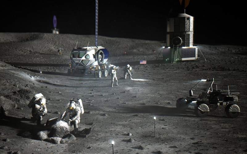 The Lockheed-GM Lunar Terrain Vehicle is being developed to allow the partnership to compete for a NASA Artemis contract.