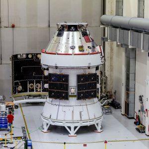 The maiden flight of NASA's Orion spacecraft atop an SLS rocket is slated for late 2021.