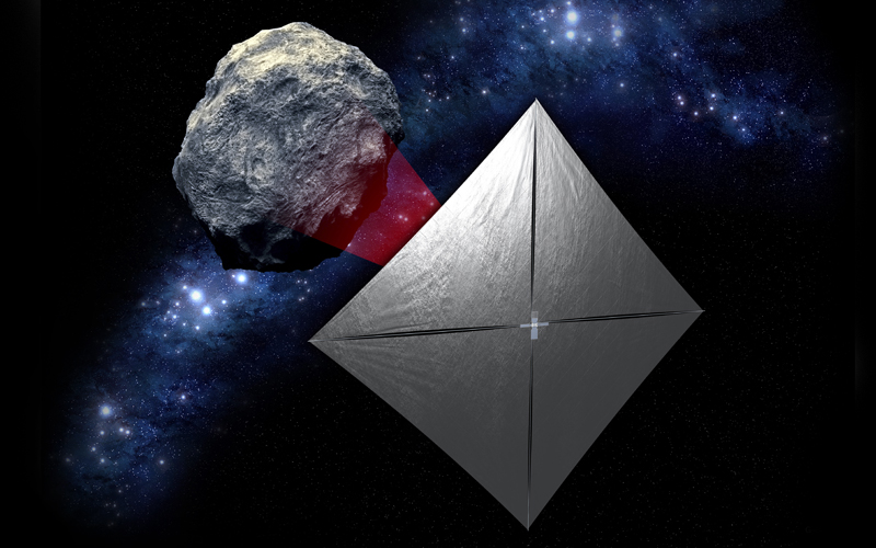 In preparation for its 2025 Solar Cruiser mission, NASA is preparing to launch a solar sail technology demonstrator aboard Artemis 1.