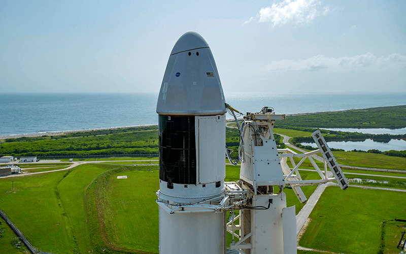 SpaceX has successfully reflown an upgraded Crago Dragon spacecraft for the first time carrying over 2,000 kilograms of supplies to the International Space Station.