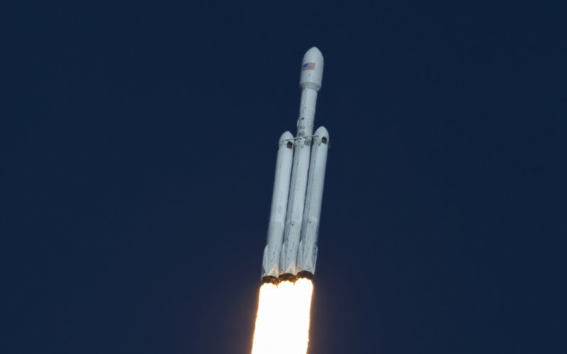 NASA's GOES-U weather satellite will be launched aboard a Falcon Heavy rocket in 2024.