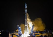 Russia launched a Soyuz-2.1v carrying a military spy satellite from Plesetsk Cosmodrome on September 9.