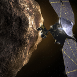One of two solar arrays on NASA's Lucy asteroid spacecraft has failed to lock into position after deployment on October 16.